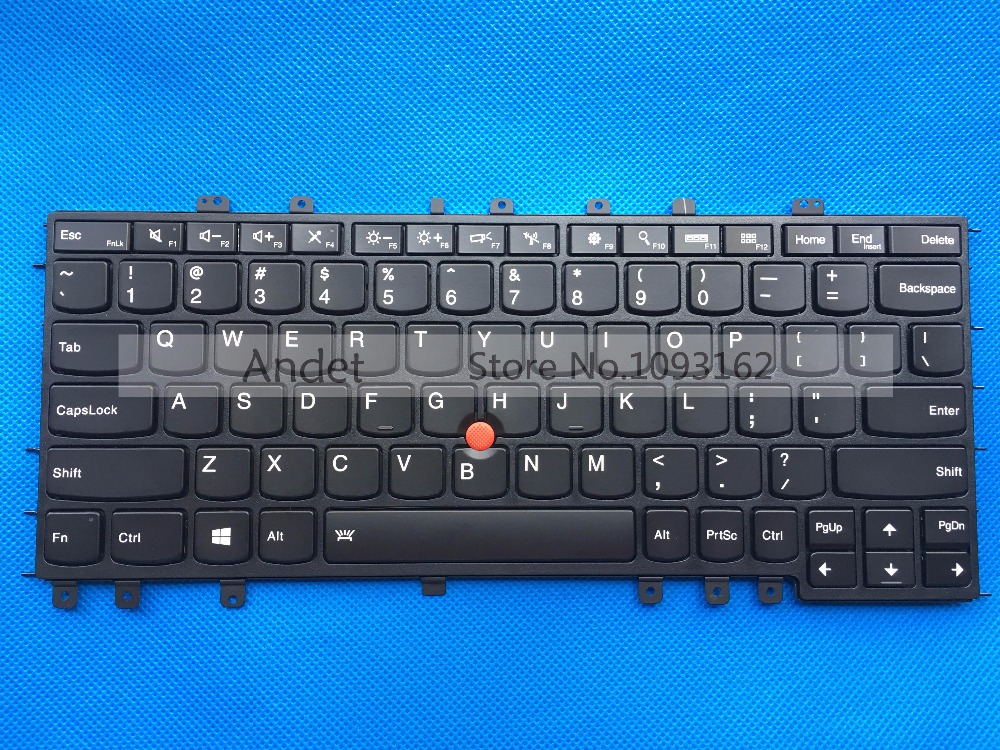 New Original for Lenovo ThinkPad Yoga S1 Yoga 12 US Keyboard 04Y2620 00HT989 new original for lenovo thinkpad yoga 260 bottom base cover lower case black 00ht414 01ax900