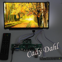 HDMI CVBS RF USB VGA Audio Video PC Computer Monitor V59 Controller Board + IPS N125HCE GN1 1920x1080 EDP LCD Display Panel(China (Mainland))