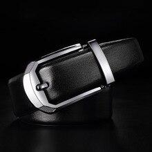 FRALU 2017 designer belts men 's leather belt head leather buckle buckle business suits men' s leather belt men belt