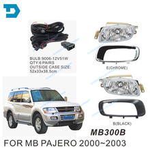 цена на 2000-2003 pajero v73 fog lamp with bulb MONTERO fog lamp full set with wire and switch 2000-2007