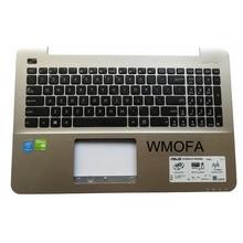US New For ASUS K555 A555 X555 K555L A555L X555L W519L Y583L laptop keyboard English champagne C case