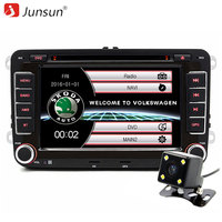 Junsun 7 Inch 2 Din Car DVD Player GPS Navigation For Skoda Fabia Praktic Roomster Octavia
