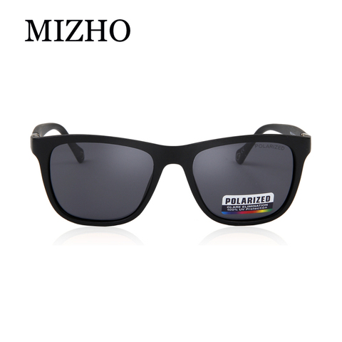 MIZHO Brand Plastic Retro Square Polarized Sunglasses Men Fashion UV400 Eyewear Traveling Women Sun Glasses Drives Travel Oculos Islamabad