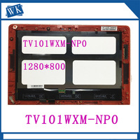 10.1''Lcd Led Assembly for HP Pavilion X2 10 J 10 K 10N 200nf 01HD L101WX03 07 Lcd Screen TV101WXM NP0 A with Slight scratches