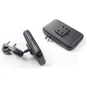 Image 3 - Support de téléphone pour moto Support de Support de téléphone pour iPhone7 5 S 6 Plus Support de vélo GPS avec sac étanche moto movil soporte