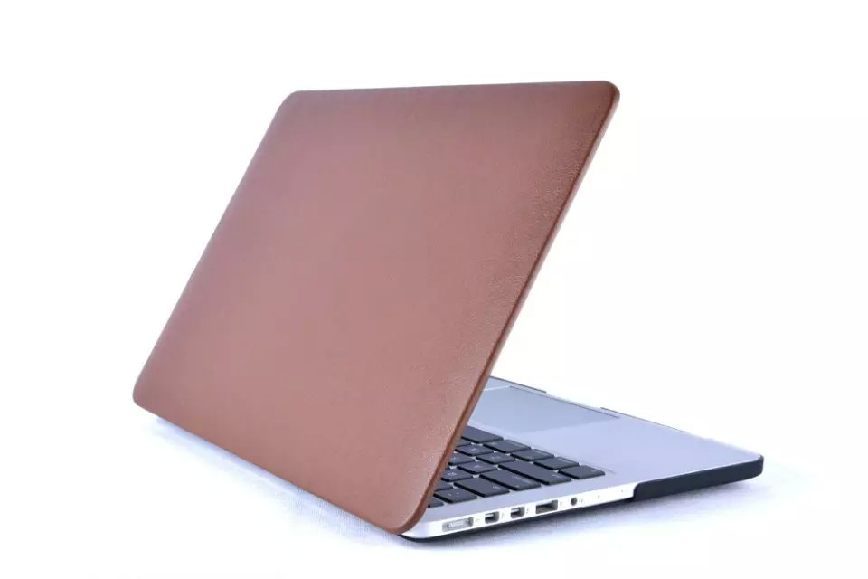 surface leather Stick skin laptop bag sleeve shell Hard Cover Case For Apple Macbook Air 11 13 Pro 13 Retina 12 13 in Laptop Bags Cases from Computer Office