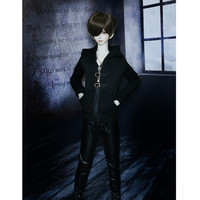 New Design BJD Doll Clothes Hoodie,Fashion Zipper Shirt Toys Clothing for Dolls, BJD Doll Accessories