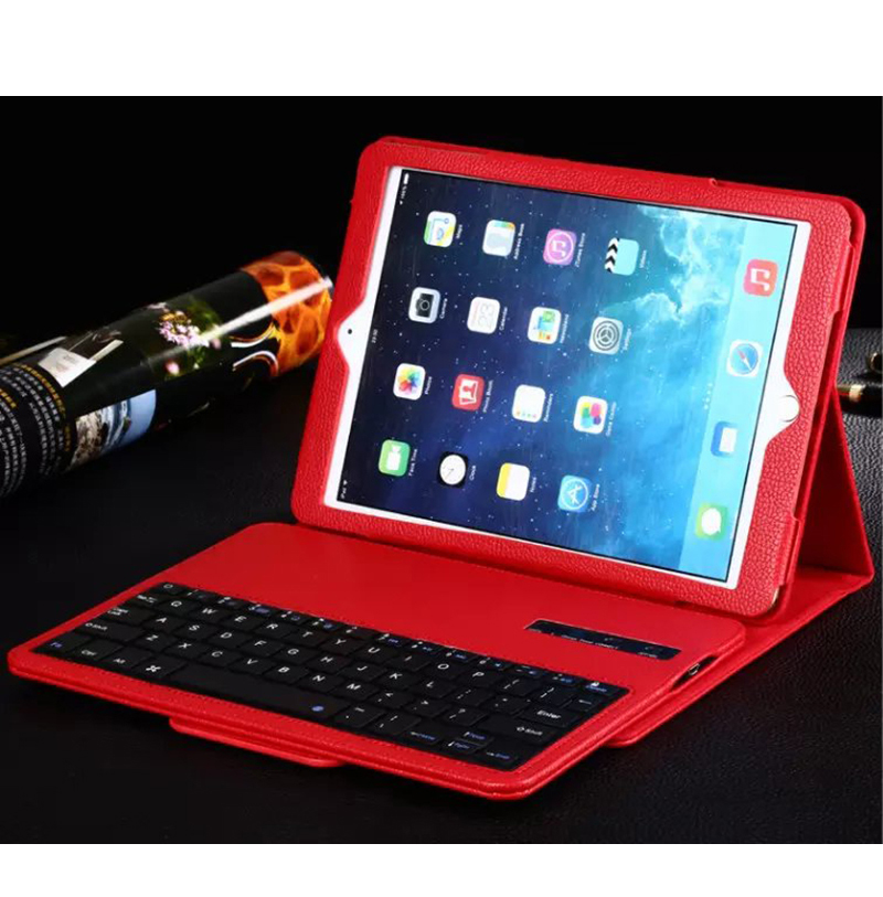 ocube Luxury 2016 Ultra Slim Wireless Bluetooth Keyboard Leather Case Cover For Apple iPad 2 3 4 9.7 Tablet WIth Film Stylus цена и фото