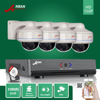 ANRAN 4Channel HD 1080N HDMI DVR 720P CCTV D N Home Security Camera Surveillance System With