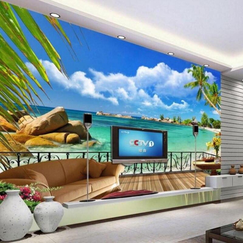 online shop beibehang fertigen jede grosse 3d wandbilder wohnzimmer 50 3d wandbilder. Black Bedroom Furniture Sets. Home Design Ideas