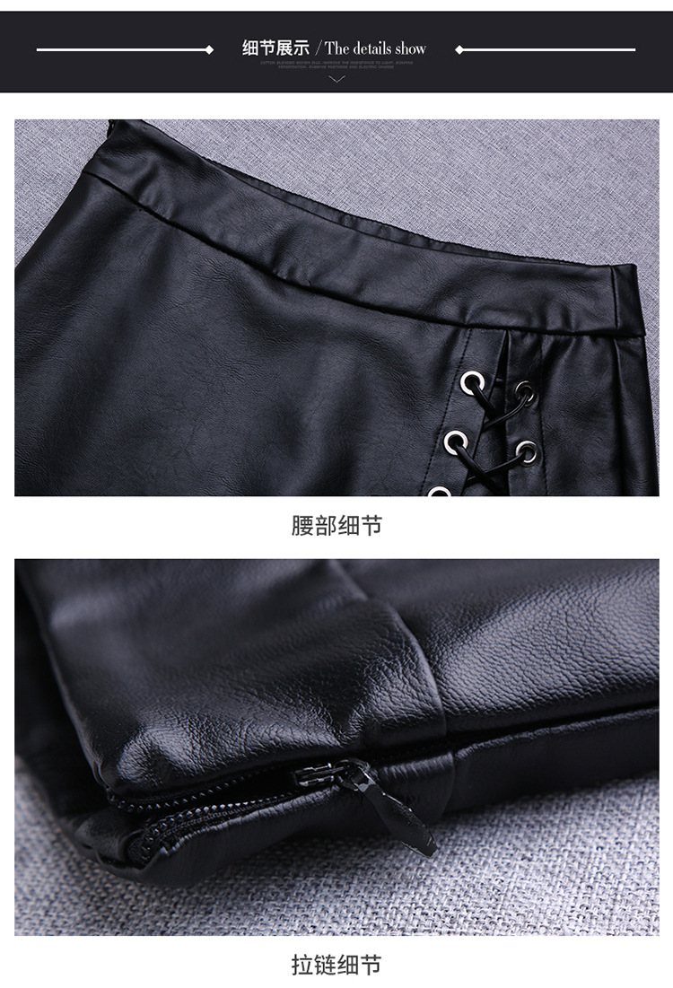 Shuchan Shorts Skirts New Arrival Women Wide Leg Pu Faux Leather Shorts Autumn Winter Ladies Black High Quality Loose Short Pant in Shorts from Women 39 s Clothing