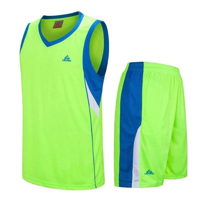 93911a3b2276 2018 New Men Basketball Jersey Sets Uniforms kits Adult Sports shirts  clothing Breathable basketball jerseys shorts DIY Custom