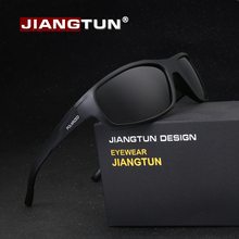 JIANGTUN Sport Sunglasses Polarized Men Women Brand Designer Driving Fishing Polaroid Sun Glasses Black Frame Oculos De Sol