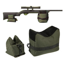 Front & Rear Bag Rifle Support Sandbag Without Sand Military Sniper Shooting Target Stand Hunting Gun Accessories(China)