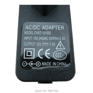 Image 3 - 10pcs per lot AC 100 240V DC 12V 1A European plug Power adapter charger Power Adapter for CCTV Camera