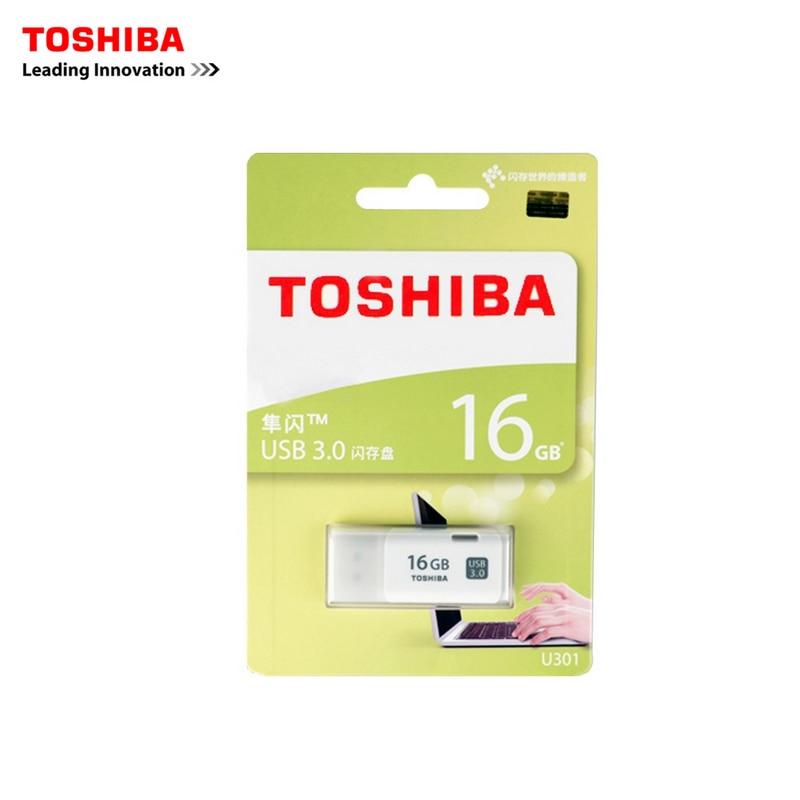 Купить с кэшбэком TOSHIBA USB 3.0 USB flash drive 64GB Real Capacity THUHYBS 32GB 16G USB flash drive quality Memory Stick 16G Pen Drive original