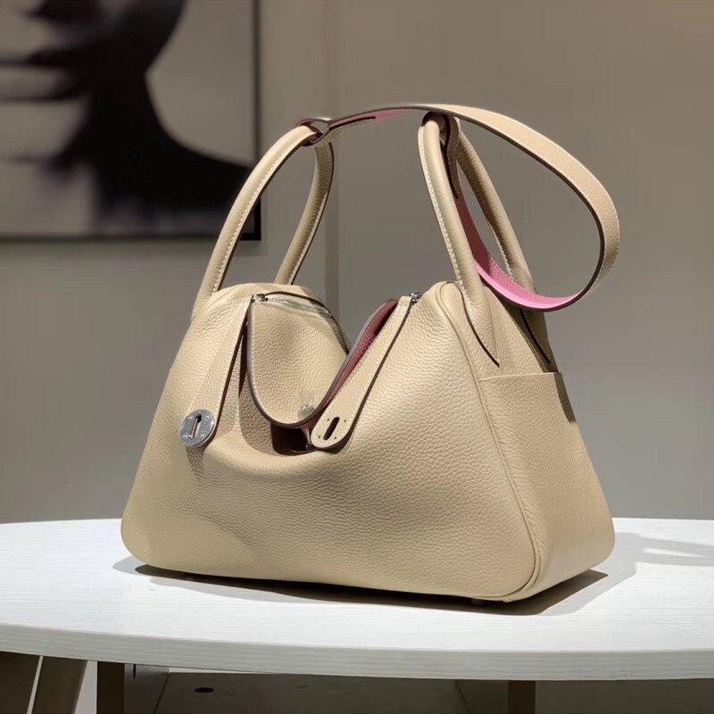 Bags Designer Genuine-Leather Runway Top-Quality Brand Female Europe