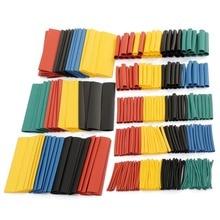 Shrink-Tubing Wrap-Wire Tube-Sleeve Car-Cable Black-Tube Heat Polyolefin-Heat PE 328pcs/Set