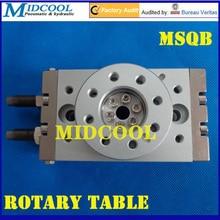 MSQB-20R Воздуха цилиндр пневматический Поворотный Стол приводов Вращения на 180 градусов типа SMC с внутренним амортизатором