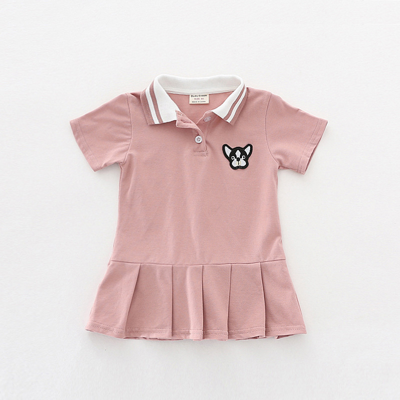 Infant dress 3 colors baby girls clothing 2018 summer dress baby cotton princess dress solid kids girls clothes new baby dress ems dhl free shipping new v neck baby girls kids sequin dress tulle dress with ruffles 5 colors princess dress casual wear