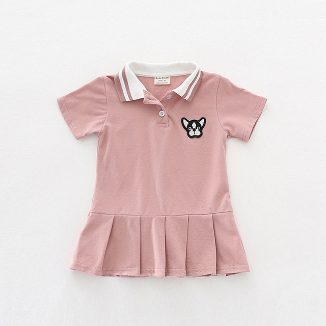 68b41ece8 Infant dress 3 colors baby girls clothing 2018 summer dress baby ...