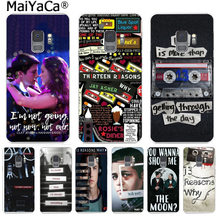 MaiYaCa 13 Thirteen Reasons Why Color Phone Case Back Cover for Samsung S9 S9 plus S5 S6 S6edge S6plus S7 S7edge S8 S8plus(China)