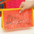 Mesh Wash Cosmetic Bag Portable Translucent Makeup Toiletry Storage Organizer Travel Wholesale Bulk Lots Accessories Supplies