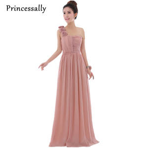 008b77700ec4 Princessally Pink Bridesmaid Dresses Long Party Prom Dress