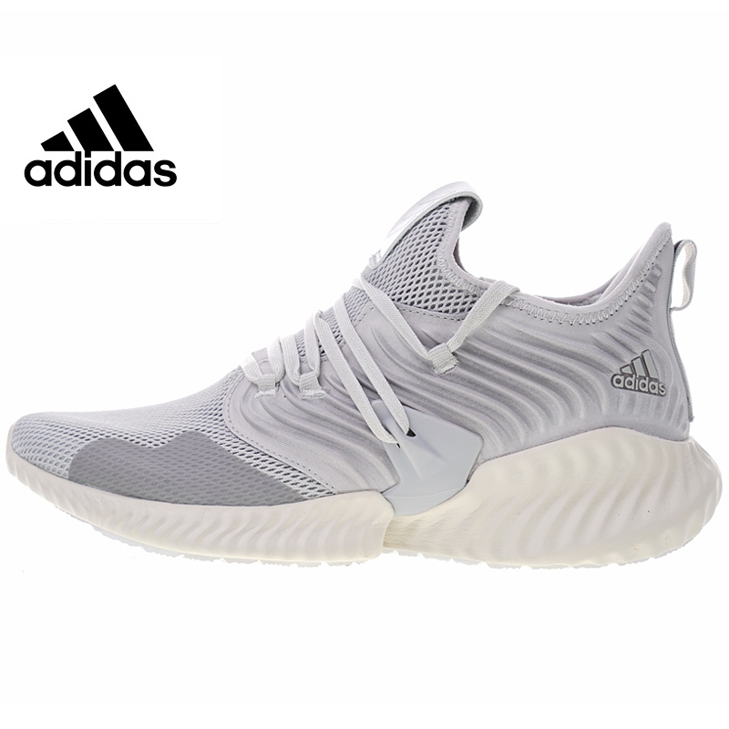 Адидас AlphaBounce Instinct мужские кроссовки 2018 летние новые уличные высококачественные спортивные туфли дышащие износостойкие D97281