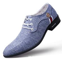 2019 Mens Canvas Shoes Fashion Breathable Wearable Flat Sole Comfortable Flax Spring  Summer New