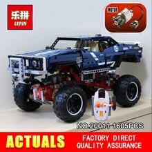 LEPIN 20011 1605 Pcs la Technique série Super classique édition limitée de véhicules hors route Modèle blocs de Construction Briques jouet 41999