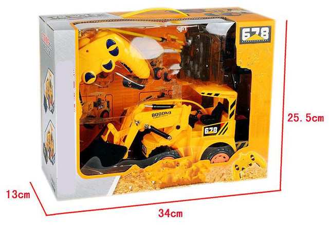 1:10 bulldozer,Engineering excavator vehicles,6 Channels Wireless remote control vehicle,Electric cars toys,