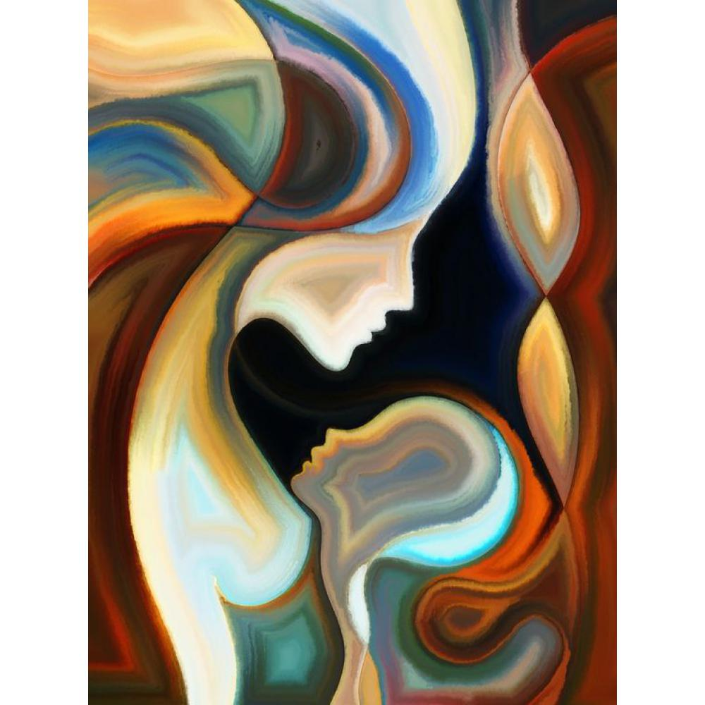 Modern Art Painting Us 36 45 19 Off Handmade Portrait Oil Paintings Abstract Body With Mom Modern Art On Canvas Picture For Home Decor In Painting Calligraphy From