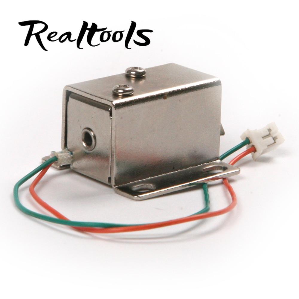 1pc silver dc 12v professional lock pick electromagnetic for 12v magnetic door lock