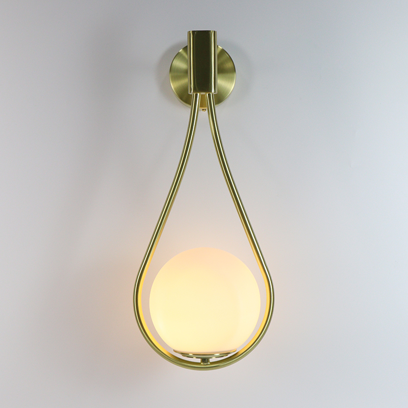 LED Wall Light Tennis Racquet Wall Lamp Indoor Bedroom Decoration Lighting Milk White Glass Lampshade With G9 Bulb Gold/BlackLED Wall Light Tennis Racquet Wall Lamp Indoor Bedroom Decoration Lighting Milk White Glass Lampshade With G9 Bulb Gold/Black
