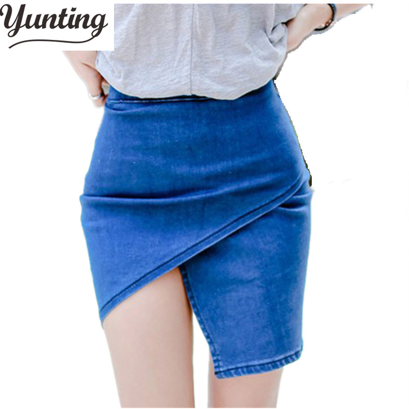 Colored Jean Skirts Promotion-Shop for Promotional Colored Jean ...