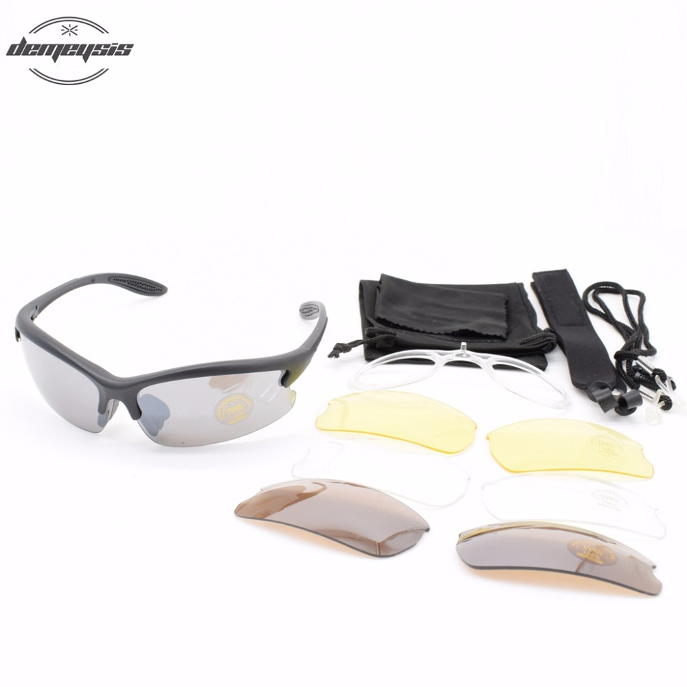 Tactical Sport Glasses Sunglasses Camping Hiking Shooting Safety Glasses UV Protect Eye Protection Tactical Eyewear