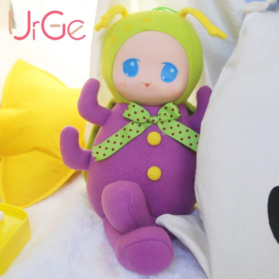 Ingyenes házhozszállítás Plüss Játékok Rajzfilm Anime Cicada Sleeping Mate babák és töltött játékok Gyermek ajándék URGE