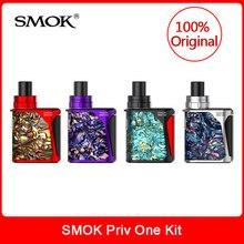 Original SMOK Priv Um Tudo-em-Um Priv um mod Starter Kit 2 ml capacidade construído em 920 mAh bateria Vape Cigarro Eletrônico Kit