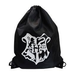 Холст сумки дорожные аксессуары посылка хранения Организатор шнурок мешок мультфильм аниме Гарри Поттер Портативный Водонепроницаемый