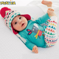Menoea 2017 Autumn Baby Girl Clothes Infant Suit Cartoon Cotton Long Sleeved + Pants 2pcs Baby Boys Clothing Set Free shipping
