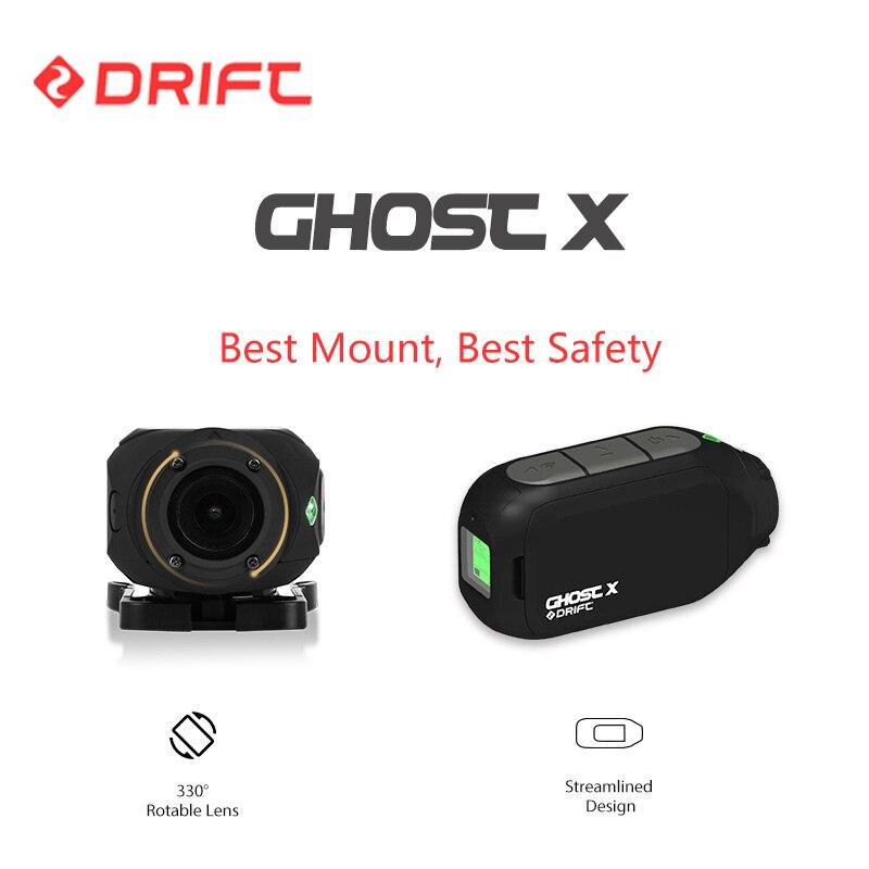 Original dérive Action caméra Sport Cam fantôme X Plus MC 1080P moto VTT vélo vélo vélo longue durée batterie casque Cam WiFi - 4