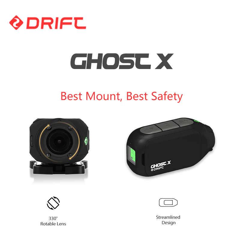 Recién llegado, cámara deportiva Drift Ghost X Action 1080P, cámara para bicicleta de montaña, motocicleta, bicicleta, casco, cámara con WiFi