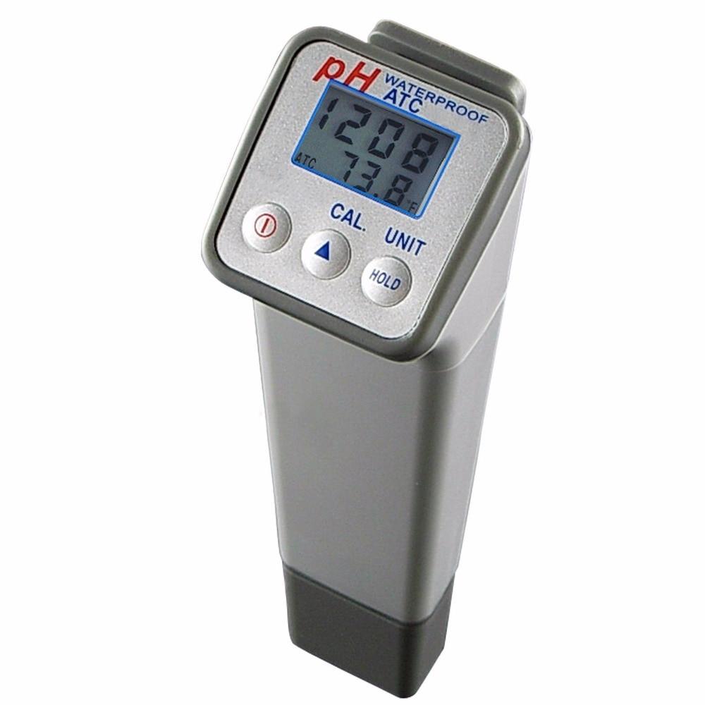 Digital Ph Meter : Professional handheld splashproof digital ph meter