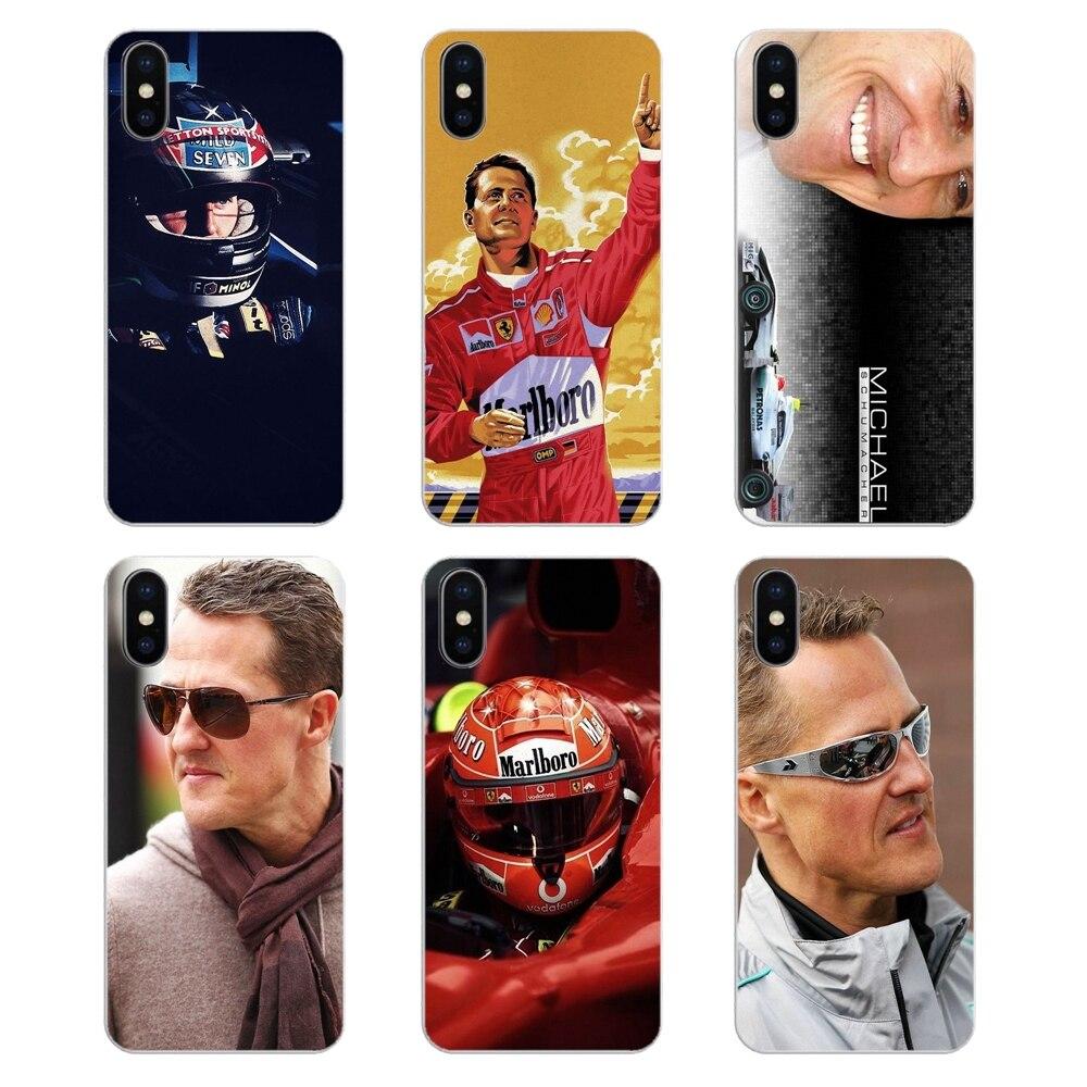 Ambitieus Siliconen Telefoon Skin Case Voor Xiao Mi Rode Mi 4x S2 3 S Note 3 4 5 6 6a Por Pocophone F1 Mi 6 Mi Chael Schumacher World Star Auto Sport Kortingen Prijs