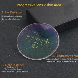 Image 2 - Titan Không Gọng Tiến Bộ Multifocal Multifocus Đa Tập Trung Kính Đọc Sách Chuyển Tiếp Nam Kính Mắt Hyperopia Lão Thị Xã Reade