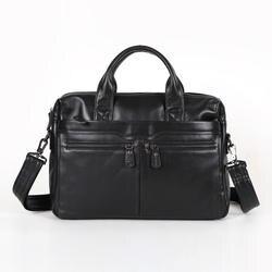 Nesitu Продвижение Настоящее первый Слои Пояса из натуральной кожи Портфели портфель Для мужчин Курьерские сумки # m7122