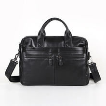 Maxdo Promotion Real First Layer Genuine Leather Briefcase Portfolio Men Messenger Bags #M7122