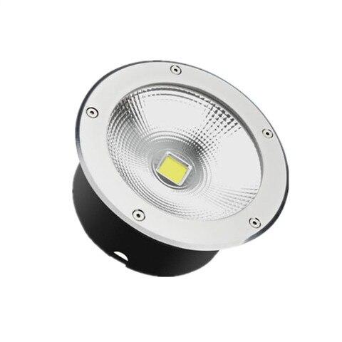 led luzes enterradas 10w20w30w50w plaza luzes da arvore fundo redondo a prova dwaterproof agua lampada