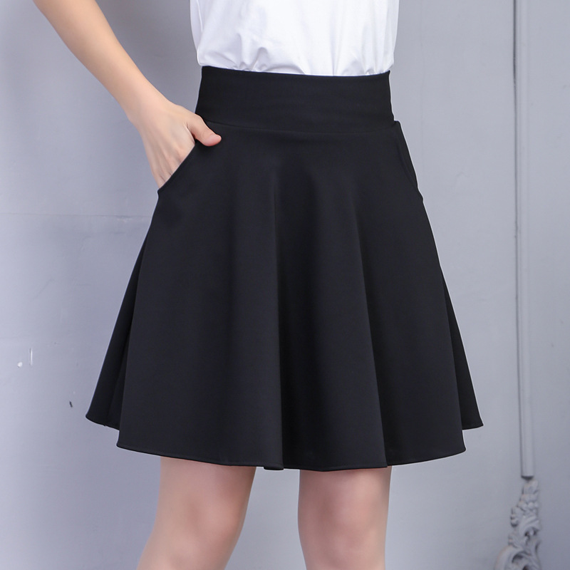 03fa063cbb Compra black pleated mini skirt sexy y disfruta del envío gratuito en  AliExpress.com